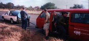 Van Broken Down