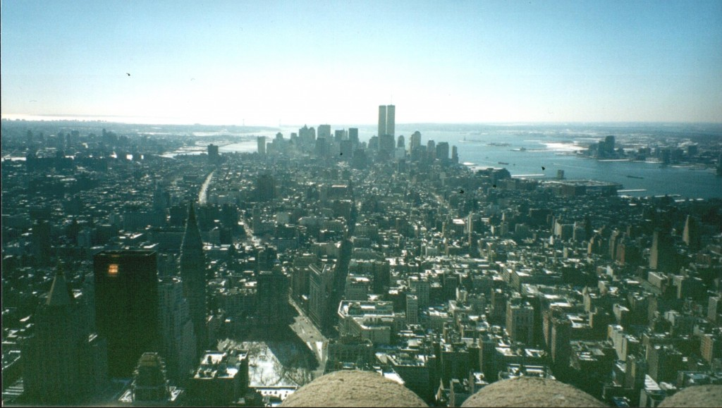 Manhattan from the Empire State
