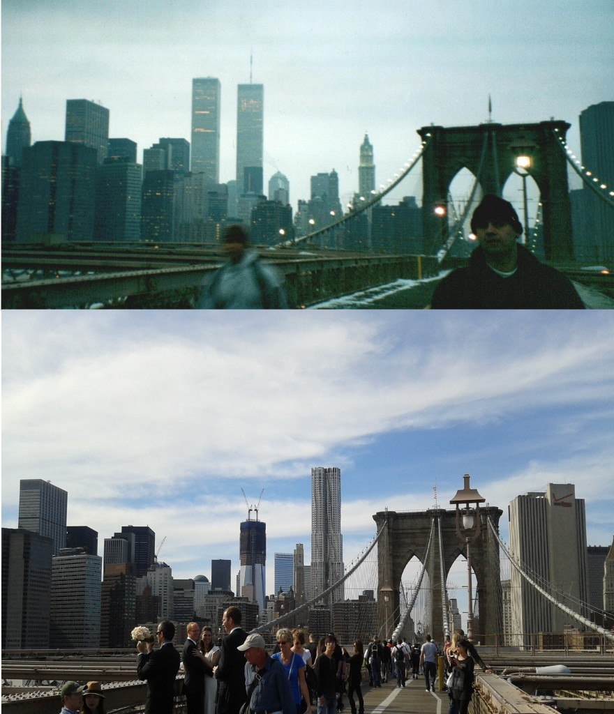 View from the Brooklyn Bridge - Collage