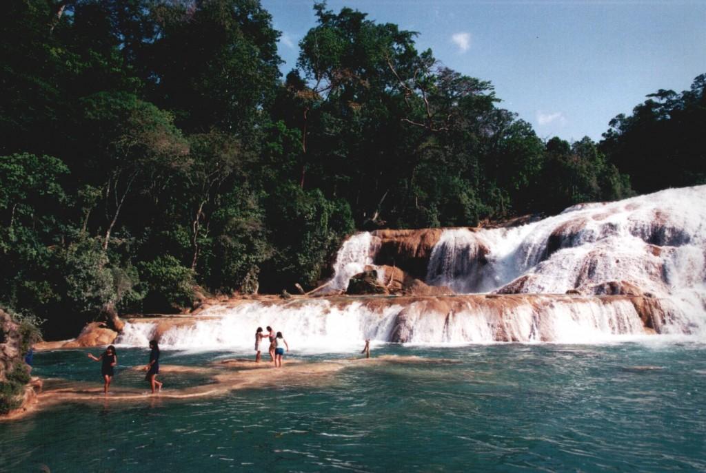 Agua Azul near Palenque