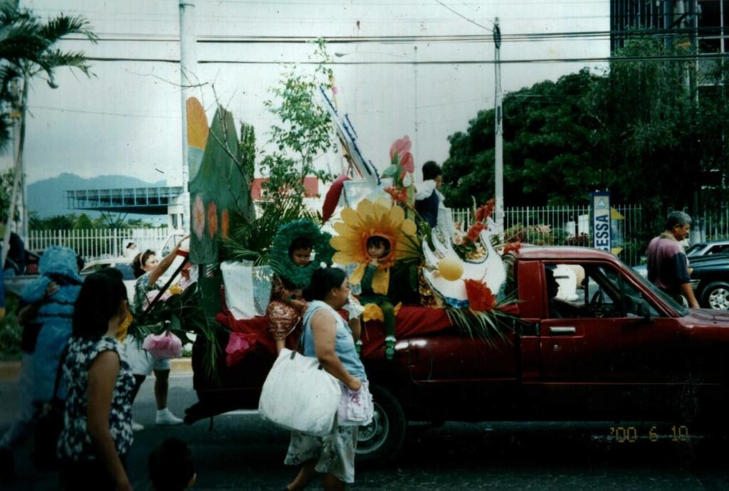 Parade in San Salvador