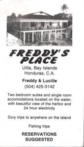 Utila - Freddys Place