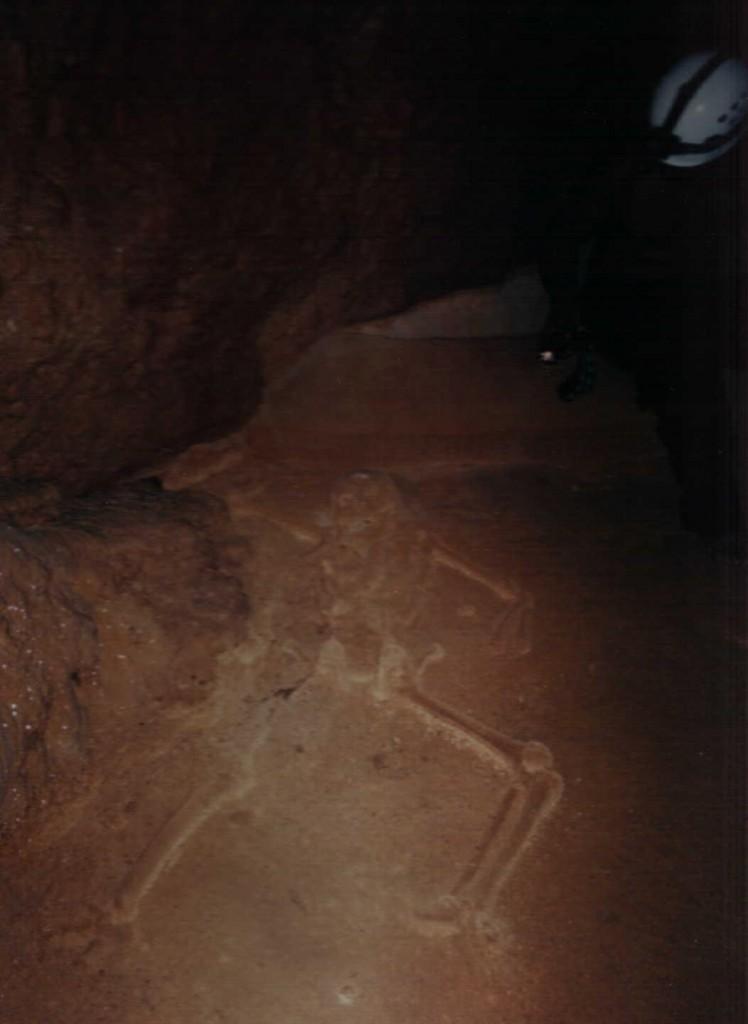 Belize Cave Skeleton