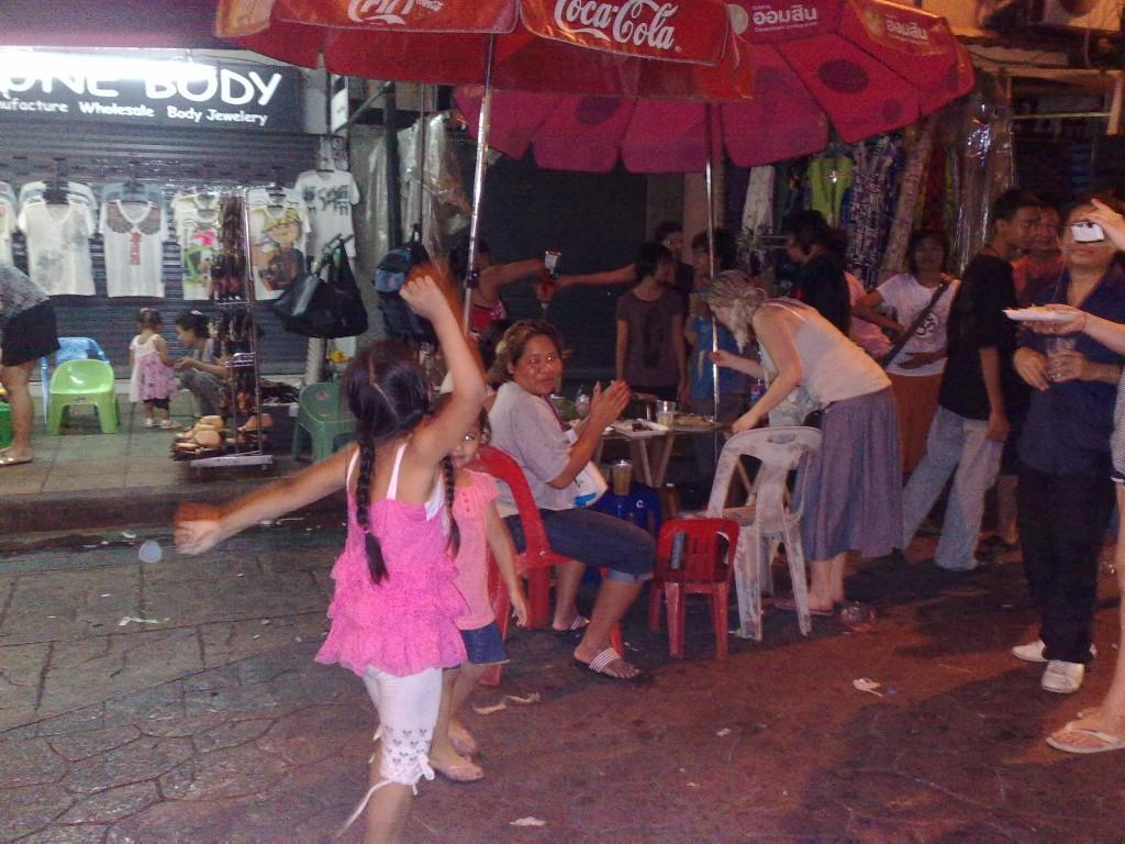 Banglumpu Street Scene